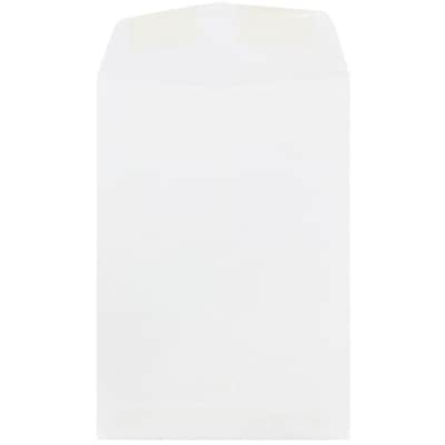 JAM Paper® 7 x 10 Open End Catalog Envelopes with Gum Closures, White, 50/pack (1623194i)