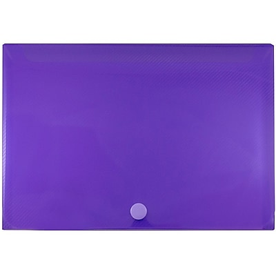 JAM Paper® Plastic Index Card Case, 8 3/8 x 5 3/4 x 1 3/8, Purple, Sold Individually (374032789)