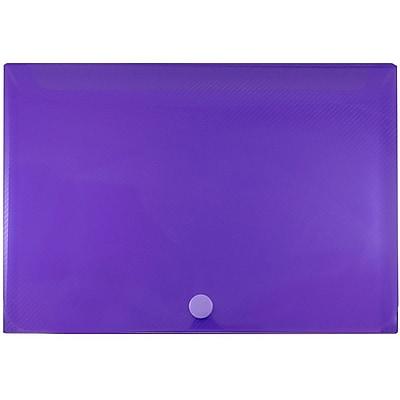 JAM Paper® Plastic Index Card Case, 6 1/8 x 3 3/4 x 1, Purple, Sold Individually (374032784)