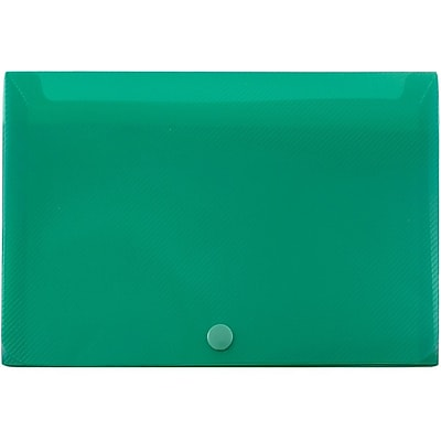 JAM Paper® Plastic Index Card Case, 6 1/8 x 3 3/4 x 1, Green, Sold Individually (374032783)