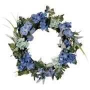 One Allium Way Hydrangea 22'' Petunia Wreath