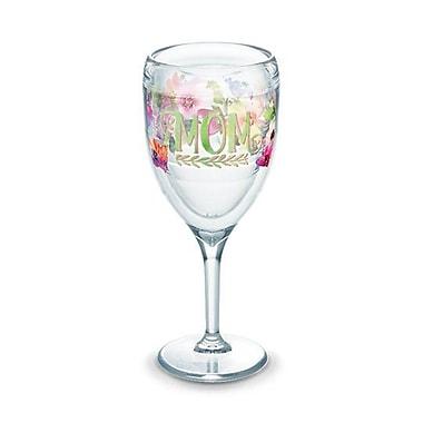 Tervis Tumbler Mom Watercolor 9 oz. All Purpose Wine Glass