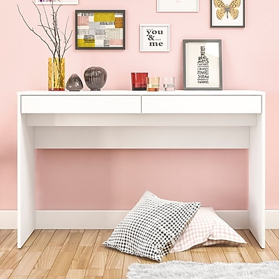 Ebern Designs Suzanna 2 Drawer Writing Desk;