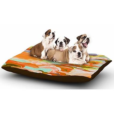 East Urban Home Ebi Emporium 'Still Up in the Air 5' Dog Pillow w/ Fleece Cozy Top