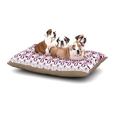 East Urban Home Julia Grifol 'Warm Deco' Dog Pillow w/ Fleece Cozy Top