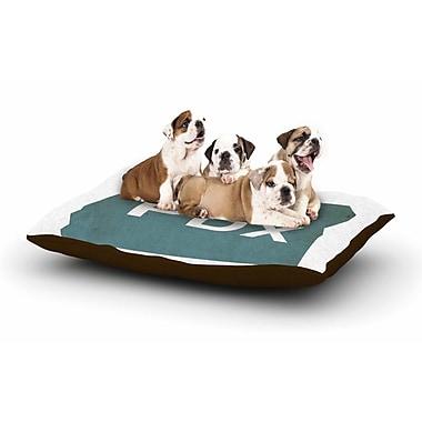 East Urban Home Juan Paolo 'PDX' Dog Pillow w/ Fleece Cozy Top