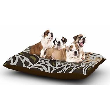 East Urban Home Viviana Gonzalez 'Africa - Abstract II' Dog Pillow w/ Fleece Cozy Top