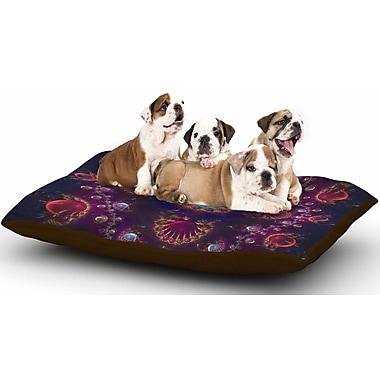 East Urban Home Cvetelina Todorova 'Royal Jewels' Dog Pillow w/ Fleece Cozy Top