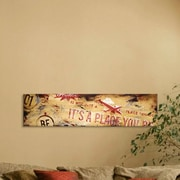 Williston Forge 'Home' Graphic Art Print on Wood