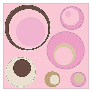 WallPops! Spheres Wall Decal; Pink