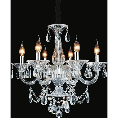 Astoria Grand Zac 6-Light Candle-Style Chandelier