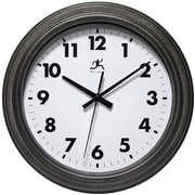 Charlton Home 11.5'' Black Wall Clock