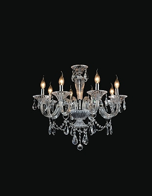 Astoria Grand Zac 8-Light Candle-Style Chandelier