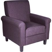 Ebern Designs Margaux Accent Chair; Dark Grey