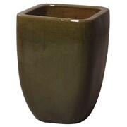 Emissary Square Pot Planter; 17'' H x 12'' W x 12'' D