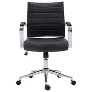 Orren Ellis Inga Desk Chair; Black