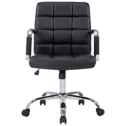 Orren Ellis Georgianne Desk Chair; Black