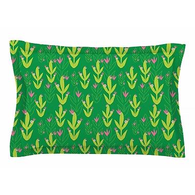 East Urban Home Neelam Kaur 'Cacti Tropical Inspired' Digital Sham; 20'' H x 30'' W x 1'' D