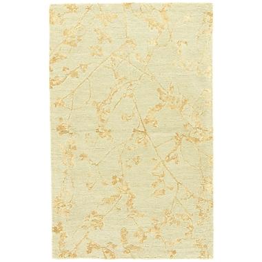 Winston Porter Talitha Hand-Tufted Gray/Tan Area Rug; 2' x 3'