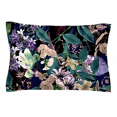 East Urban Home Victoria Krupp 'Midnight Garden' Digital Sham; 20'' H x 30'' W x 1'' D
