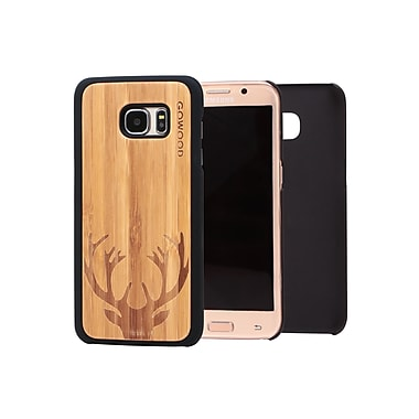 Go Wood Cell Phone Fitted Case for Samsung Galaxy S7 edge, Deer (GW-B29)