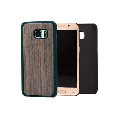 Go Wood Cell Phone Fitted Case for Samsung Galaxy S7 edge, Walnut (GW-W7)