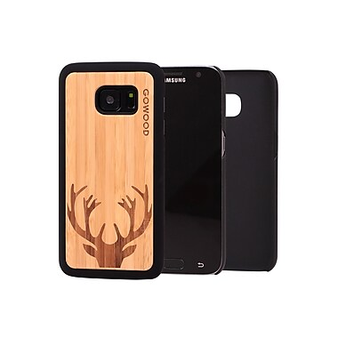 Go Wood Cell Phone Fitted Case for Samsung Galaxy S7, Deer (GW-B26)