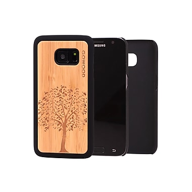 Go Wood Cell Phone Fitted Case for Samsung Galaxy S7, Tree (GW-B28)