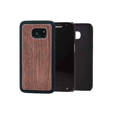 Go Wood Cell Phone Fitted Case for Samsung Galaxy S7, Walnut (GW-W6)