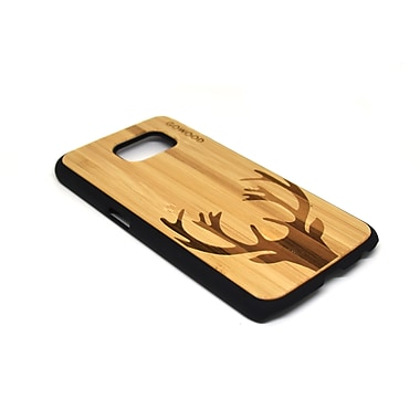 Go Wood Cell Phone Fitted Case for Samsung Galaxy S6, Deer (GW-B22)