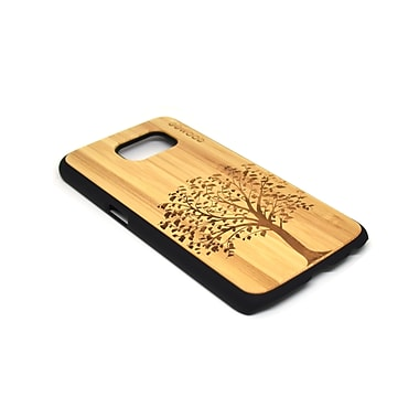 Go Wood Cell Phone Fitted Case for Samsung Galaxy S6, Tree (GW-B20)