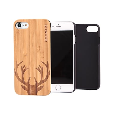 Go Wood – Étui pour Apple iPhone 7, chevreuil (GW-B23)