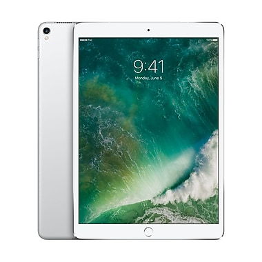 Apple – Tablette Retina iPad Pro MQF02CL/A 10,5 po, puce A10X Fusion, 64 Go, Wi-Fi + Cellular, argent