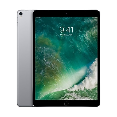 Apple – Tablette Retina iPad Pro MPHG2CL/A 10,5 po, puce A10X Fusion, 256 Go, Wi-Fi + Cellular, gris cosmique