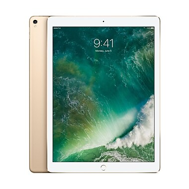 Apple – Tablette Retina iPad Pro 12,9 po, puce A10X Fusion, 64 Go, Wi-Fi + Cellular