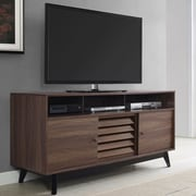 George Oliver Williamstown TV Stand; Brown Walnut
