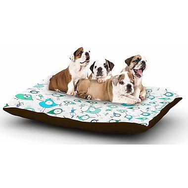 East Urban Home Anchobee 'Birdies' Dog Pillow w/ Fleece Cozy Top