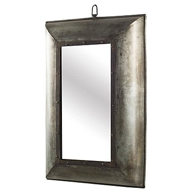 World Menagerie Rectangle Accent Wall Mirror; 33'' H x 21'' W x 4'' D