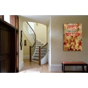 Williston Forge 'The Mind Of Greatness' Graphic Art Print on Wood; 18'' H x 12'' W x 1.5'' D