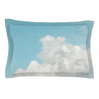 East Urban Home Suzanne Harford 'Summer Sky 3' Photography Sham; 20'' H x 30'' W x 1'' D
