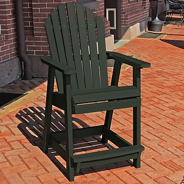 Longshore Tides Deerpark Dining Arm Chair; Charleston Green