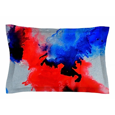 East Urban Home Claire Day 'Glory' Abstract Painting Sham; 20'' H x 30'' W x 1'' D