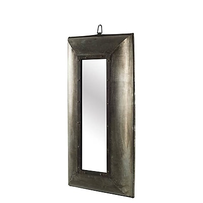 World Menagerie Rectangle Accent Wall Mirror; 31'' H x 18'' W x 4'' D
