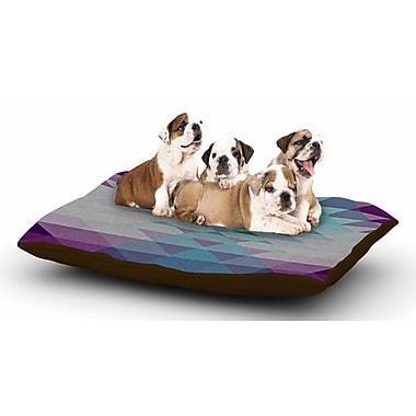 East Urban Home Nika Martinez 'Hipster Girl' Dog Pillow w/ Fleece Cozy Top