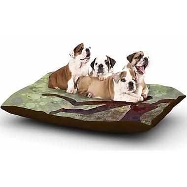 East Urban Home AlyZen Moonshadow 'Lift' Dog Pillow w/ Fleece Cozy Top