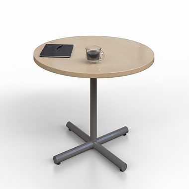 Trendway Round Collaborative Table; Maple