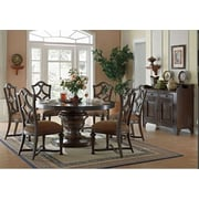 EasternLegends Lorraine Round Dining Table; 30'' H x 72'' W x 72'' D