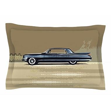 East Urban Home Bruce Stanfield 'Cadillac Fleetwood 1961' Digital Sham; 20'' H x 30'' W x 1'' D