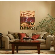 Red Barrel Studio 'Notice The Little Things' Graphic Art Print on Wood; 28'' H x 21'' W x 1.5'' D