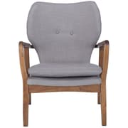Corrigan Studio Alson Lounge Chair; Gray